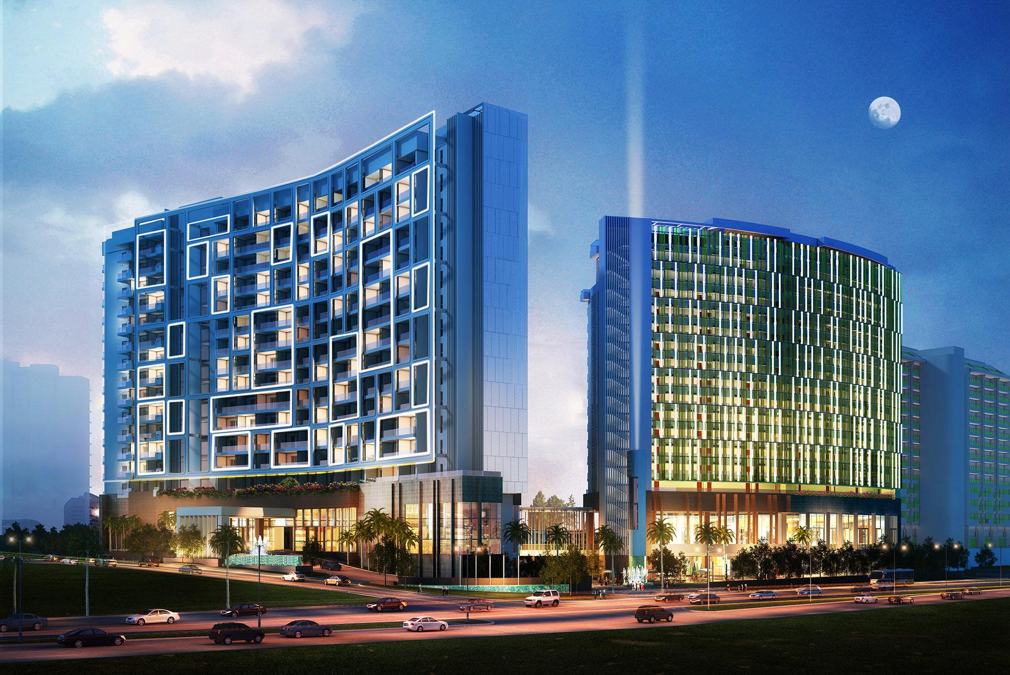 三亚湾丽禾温德姆酒店