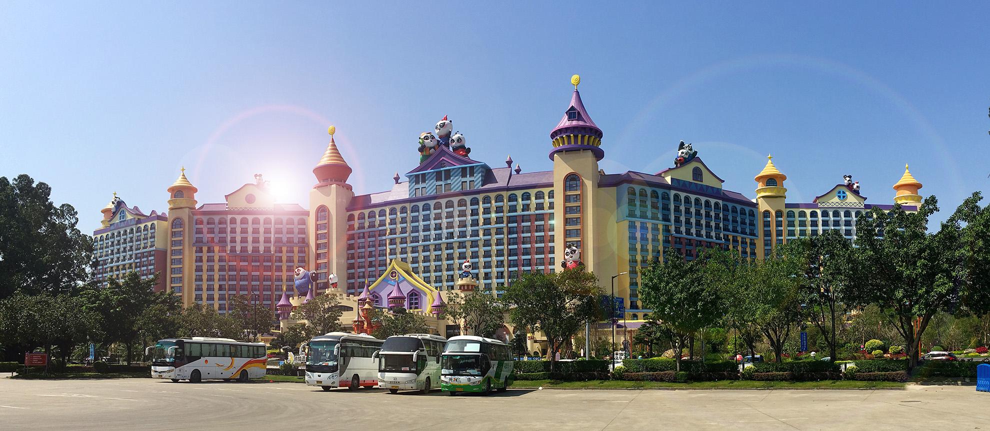 文旅品牌设计,长隆熊猫酒店品牌设计,文旅VI形象,文旅视觉设计,文旅设计公司